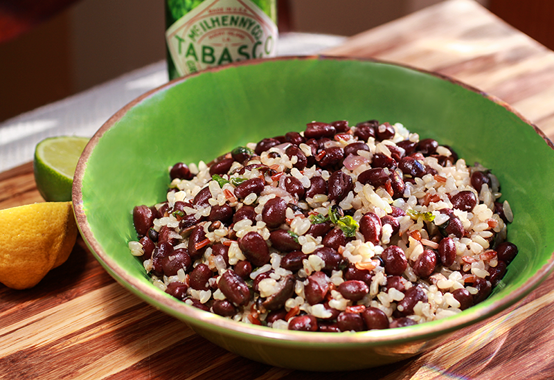 Super Easy Black Beans and Rice – I via veggiechick.com I # ...