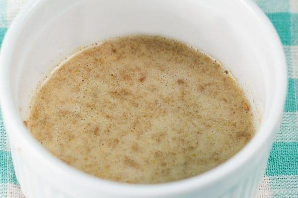 How to make a Flax Egg – I via veggiechick.com I #vegetarian #vegan #cleaneating #traderjoes