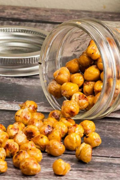 Crispy Asian Roasted Chickpeas