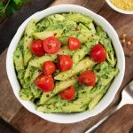 Avocado Pasta with Herbs