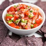 Key Lime Pico de Gallo via veggiechick.com #vegan #appetizer #healthy