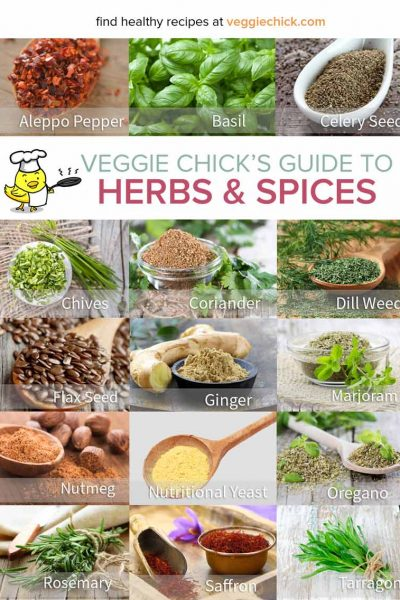 Veggie Chick's Herbs and Spices