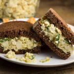 Vegan Egg Salad Sandwich |via veggiechick.com #vegan #glutenfree