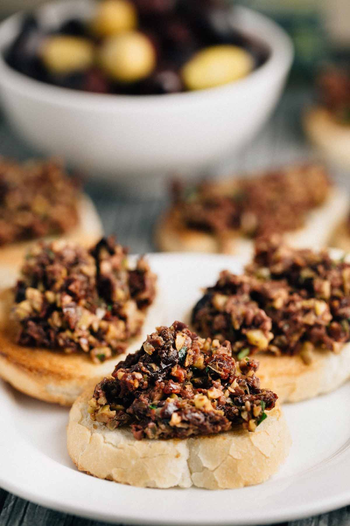 Olive Tapenade + 20 ways to use it (Vegan, Gluten Free)