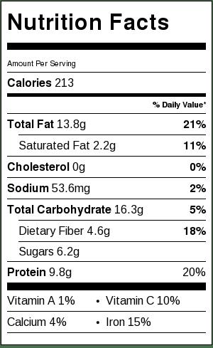 truffle_beet_salad_nutrition