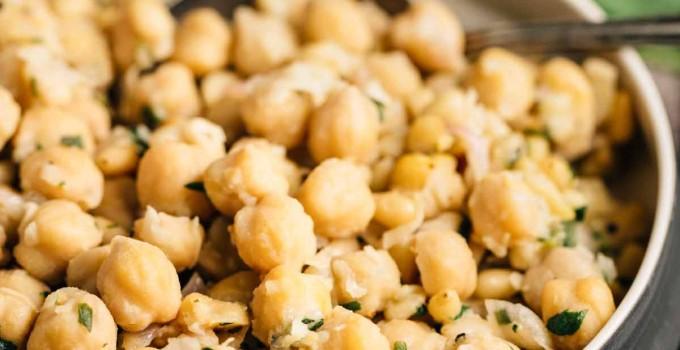 Lemon Chickpeas (Vegan, Gluten Free)