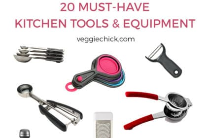 20 Must Have Kitchen Tools & Equipment | via veggiechick.com