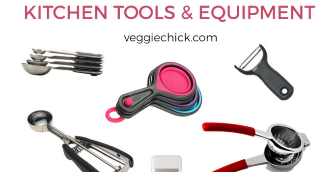 20 Must-Have Kitchen Tools & Equipment