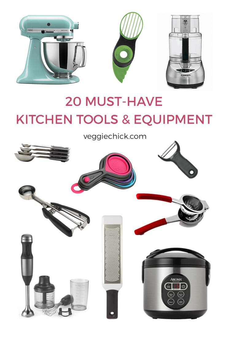 Kitchen Tools And Equipment 20 Musthave Kitchen Tools & Equipment  The Veggie Chick