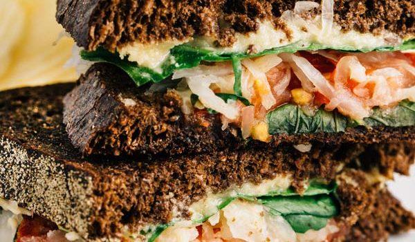 Veggie Reuben Sandwiches (Vegan, Gluten Free)