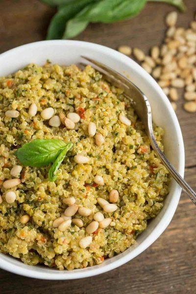 Basil Pesto Quinoa