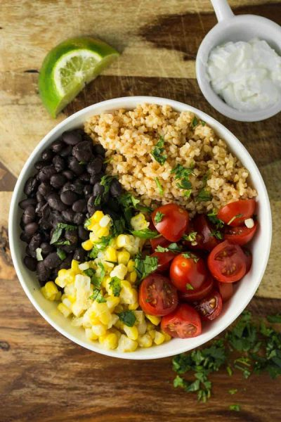 Mexican Black Bean Bowl