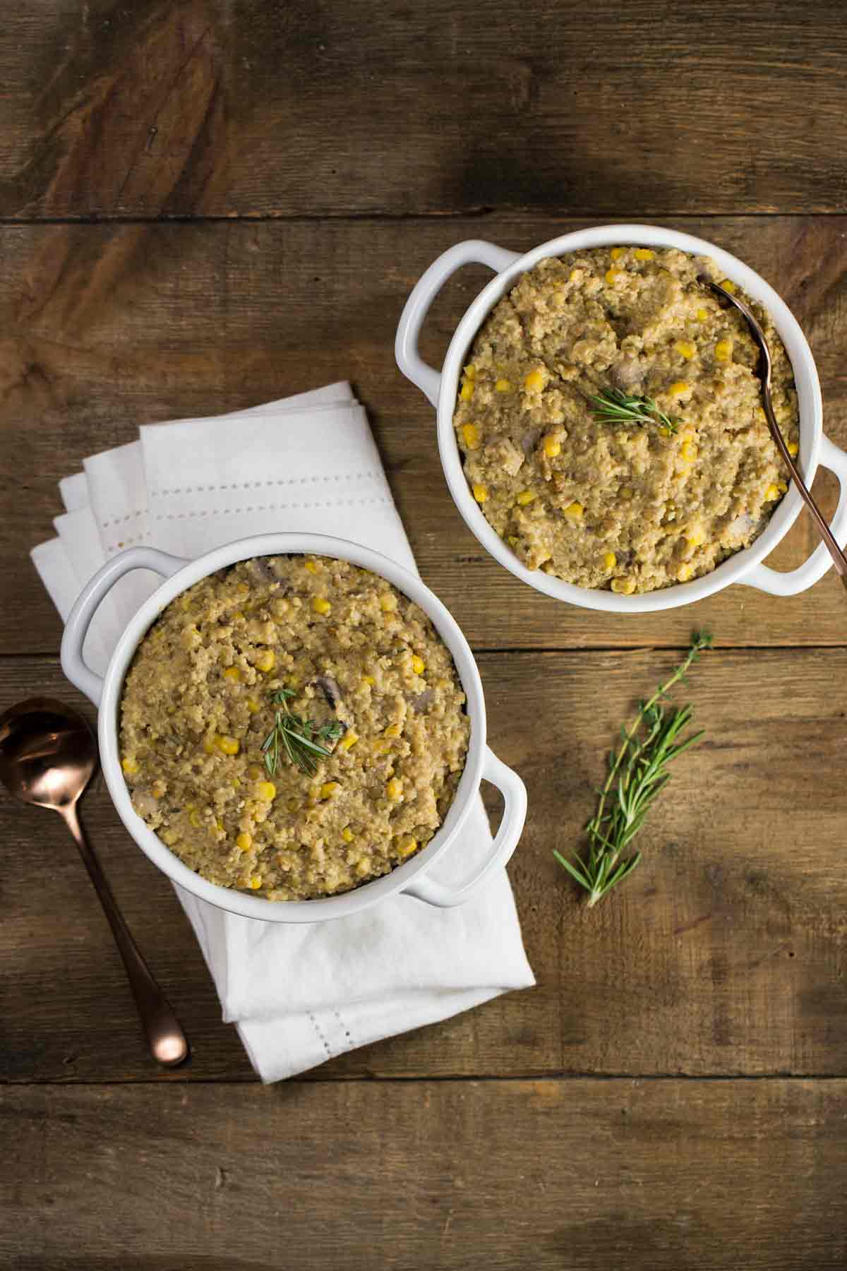 Instant Pot Vegan Shepherds Pie | via veggiechick.com #vegan #oilfree
