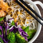 Cold Noodle Salad with Miso Peanut Sauce