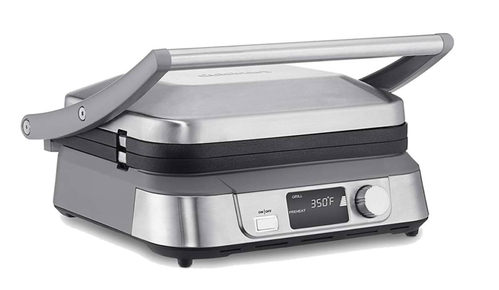 Cuisinart panini press and griddle, closed