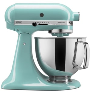 Aqua blue Kitchenaid Mixer