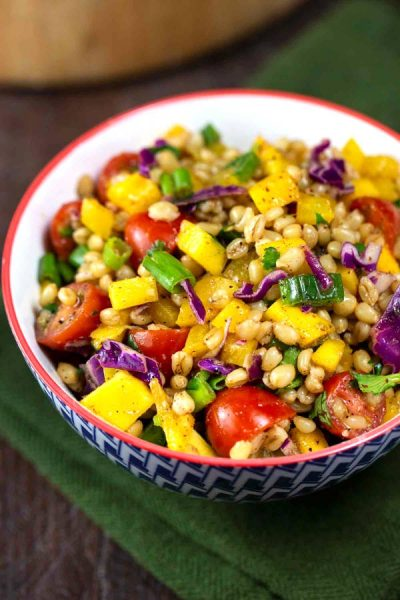 Wheat Berry Southwest Salad