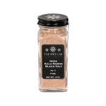 Kala Namak black Indian salt bottle