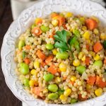 Israeli Couscous with Veggies