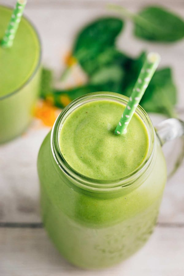 Turmeric Green Tea Smoothie