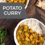 Potato Curry (Vegan, Gluten Free, Oil-Free)