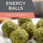 Matcha Green Tea Energy Balls